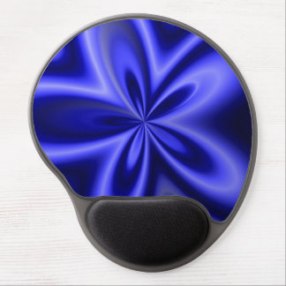 Thin Blue Line Star Burst Gel Mouse Pad