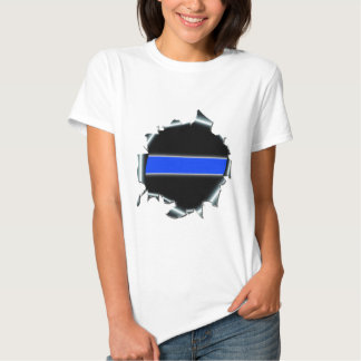 Thin Blue Line T Shirt