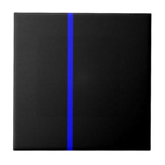 Thin blue line tile