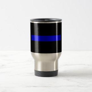 Thin Blue Line Travel Coffee Mug