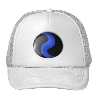 Thin Blue Line Trucker Hat