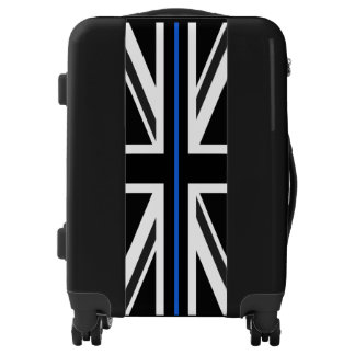 Thin Blue Line UK Flag Luggage