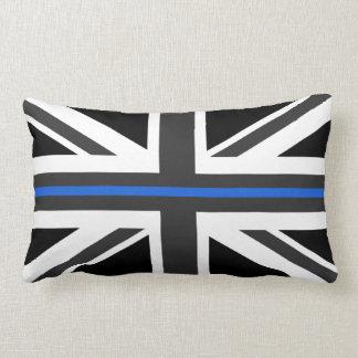 Thin Blue Line UK Flag Lumbar Pillow