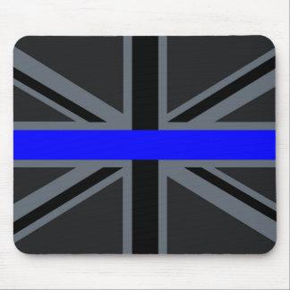 Thin Blue Line Union Jack Graphic Mouse Pad