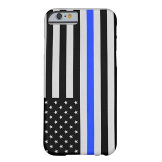 Thin Blue Line USA flag phone case