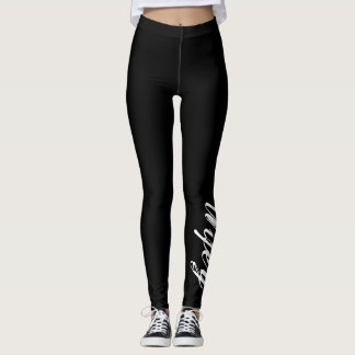 Thin Blue Line Wifey Leggings Law Enforcement