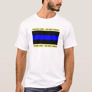 Thin Blue Police Line T-Shirt