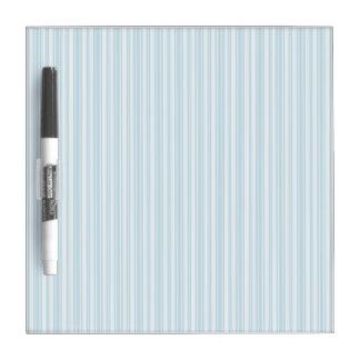 Thin Blue Stripes Dry-Erase Board