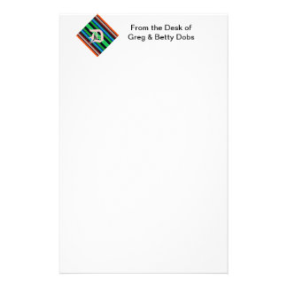 Thin Colorful Stripes - 1 Stationery