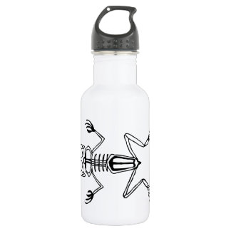 Thin frog water bottle