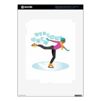 Thin Ice iPad 3 Skin