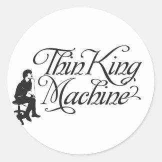 Thin King Machine Sticker