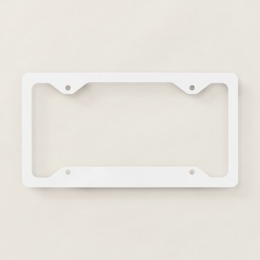 USA Themed Thin License Frame Plate