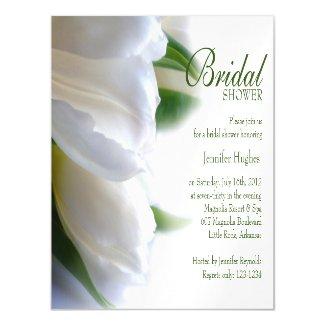 Thin Magnetic Card - Bridal Shower Invitation