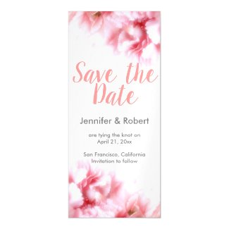 Thin Magnetic Card - Save The Date