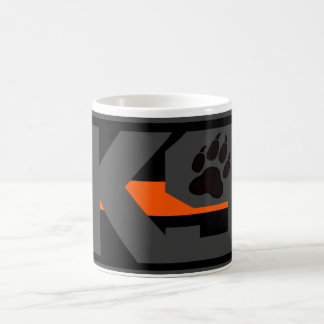 THIN ORANGE LINE K9 Search & Rescue Coffee Mug