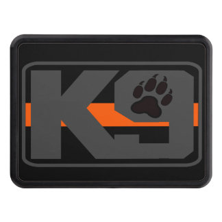 Thin Orange Line K-9 Trailer Hitch Trailer Hitch Cover