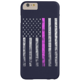 THIN PINK LINE BARELY THERE iPhone 6 PLUS CASE