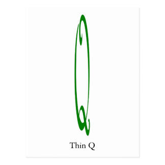 Thin Q - Thank You Postcard