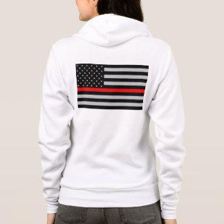 Thin Red Line Fireman Women's Zip Jacket