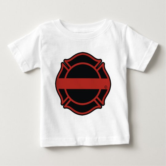 Thin Red Line Maltesse Cross Baby T-Shirt