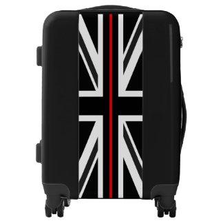 Thin Red Line UK Flag Luggage
