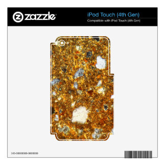 Thin section of a brick under the microscope iPod touch 4G decal
