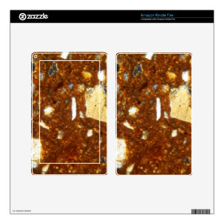 Thin section of a brick under the microscope kindle fire decals