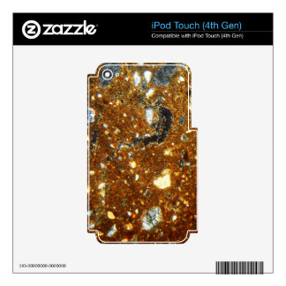 Thin section of a brick under the microscope skins for iPod touch 4G