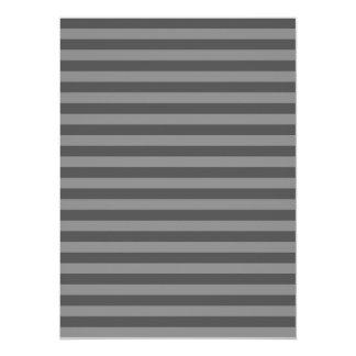 Thin Stripes - Gray and Dark Gray Card