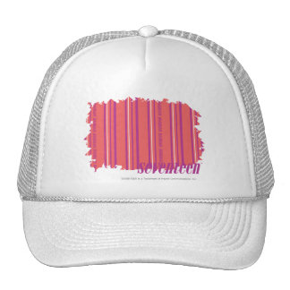 Thin Stripes Pink 2 Hats