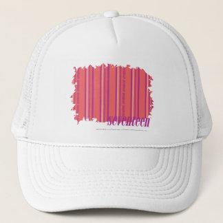 Thin Stripes Pink 2 Trucker Hat