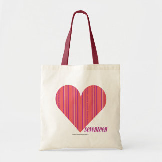 Thin Stripes Pink 3 Tote Bag