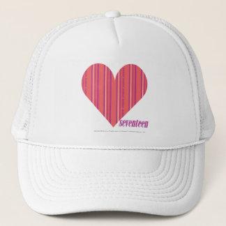 Thin Stripes Pink 3 Trucker Hat