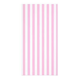 Thin Stripes - White and Cotton Candy Card