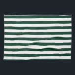 "Thin Stripes - White and Dark Green Hand Towel<br><div class=""desc"">Stripes are real classics! They are one of the eternal patterns you can use for any kind of product. These dark green and white stripes are just one of the many options available in my collection of stripes in various color combinations and stripe patterns. If you want to get a...</div>"