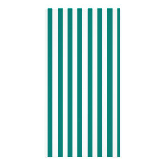 Thin Stripes - White and Pine Green Card