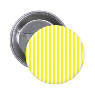 Thin Stripes - White and Yellow Pinback Button
