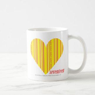 Thin Stripes Yellow 3 Coffee Mugs