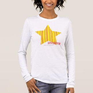 Thin Stripes Yellow 4 Long Sleeve T-Shirt
