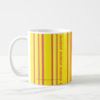 Thin Stripes Yellow Classic White Coffee Mug