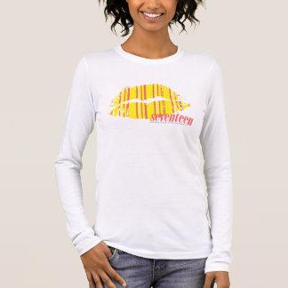 Thin Stripes Yellow Long Sleeve T-Shirt