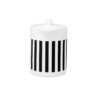 Thin Vertical Stripes Teapot