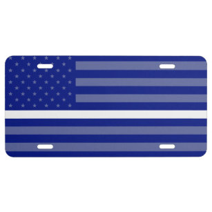 Thin White Line Doc/Nurse/EMS License Plate