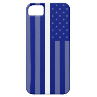 Thin White Line Flag EMT iPhone 5 Case