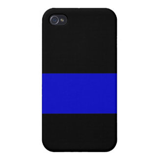 ThinBlueLine1 iPhone 4 Covers