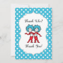 Thing 1 Thing 2 | Twins Baby Shower Thank You