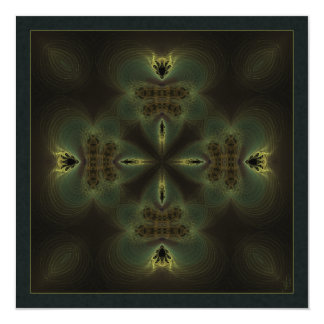 Thing of Wonder Kaleidoscope Mandala Card