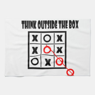 Thing outside the box hand towels