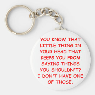 THING.png Basic Round Button Keychain